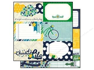 Simple Stories Paper 12x12 Charmed Journal 4x6 (25 piece)