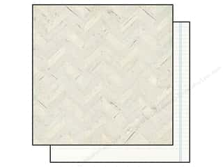 "Simple Stories Papers: Simple Stories Paper 12""x 12"" A Charmed Life Whitewashed Wood (25 pieces)"