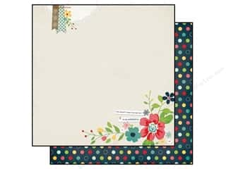 Simple Stories Paper 12x12 Homespun Grateful (25 piece)