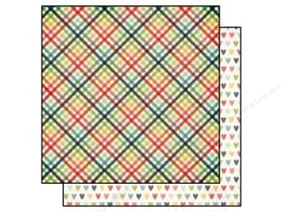 Simple Stories Paper 12x12 Homespun Heart & Home (25 piece)