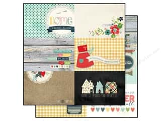 Simple Stories Paper 12x12 Homespun Journal 4x6 (25 piece)