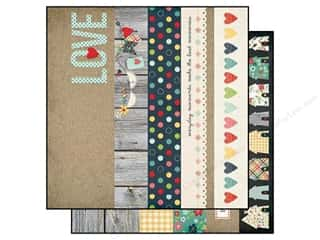 Simple Stories Paper 12x12 Homespun Border/Title (25 piece)