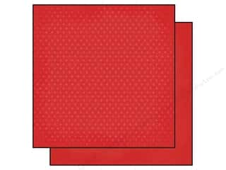 "Simple Stories Papers: Simple Stories Paper 12""x 12"" Homespun Dots Red (25 pieces)"
