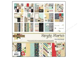 "Simple Stories Simple Stories Kit: Simple Stories Kit Homespun Collection 12""x 12"""