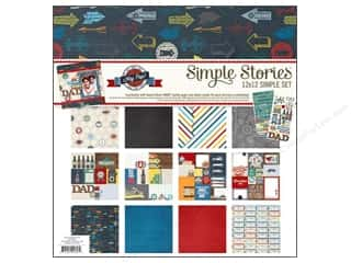 "Father's Day Size: Simple Stories Kit Hey Pop Collection 12""x 12"""