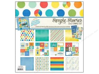 "Summer Vacations: Simple Stories Kit Summer Paradise Collection 12""x 12"""
