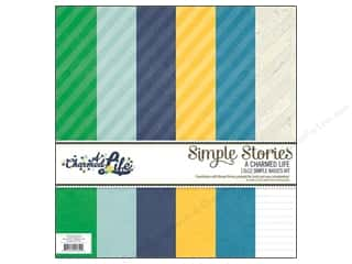 "Simple Stories Simple Stories Kit: Simple Stories Kit A Charmed Life Simple Basics 12""x 12"""