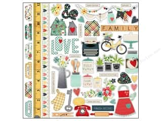 Simple Stories Stickers: Simple Stories Sticker Homespun Fundamentals