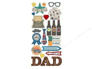 dad & gray: Simple Stories Sticker Hey Pop Fundamentals