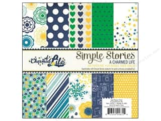 "Star Thread $2 - $6: Simple Stories Paper Pad A Charmed Life 6""x 6"""