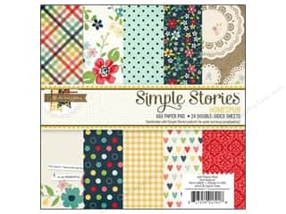 Simple Stories Paper Pad Homespun 6x6
