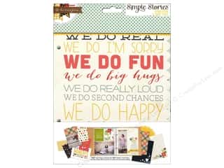 Simple Stories Pages Homespun Snap Journal
