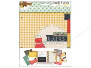 Simple Stories Pages Homespun Snap Recipe Divider