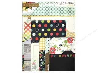 Page Protectors Black: Simple Stories SN@P! Pockets Homespun