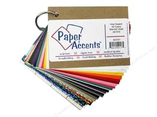 Sheet Vinyl Craft & Hobbies: Paper Accents Adhesive Vinyl Swatch