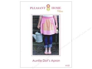 Paper House New: Pleasant Home Auntie Dot's Apron Pattern