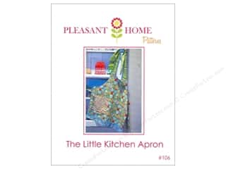 Kitchen: Pleasant Home The Little Kitchen Apron Pattern