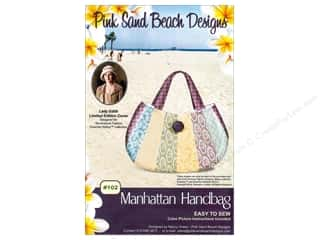 beache $7 - $9: Pink Sand Beach Designs Downton Abbey Manhattan Handbag Pattern