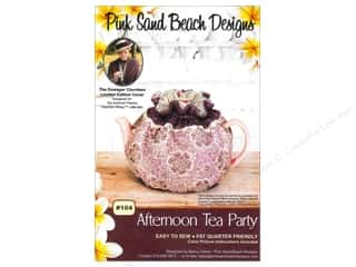 Abbey Lane Fat Quarters Patterns: Pink Sand Beach Designs Downton Abbey Afternoon Tea Party Pattern