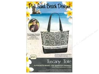 Lila Tueller Designs Tote Bags / Purses Patterns: Pink Sand Beach Designs Downton Abbey Tuscany Tote Pattern
