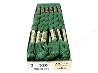 Pearl Cotton $16 - $17: DMC Pearl Cotton Skein Size 3 #320 Fern Green (12 skeins)