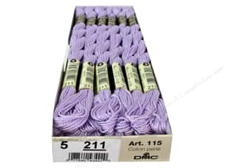 Punches Punch Embroidery: DMC Pearl Cotton Skein Size 5 #211 Light Lavender (12 skeins)