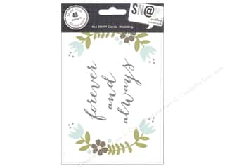 Captions $4 - $6: Simple Stories SN@P! Cards 4 x 6 in. Wedding