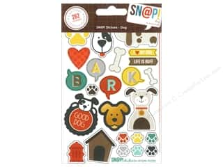 bubble abc & 123: Simple Stories SN@P! Stickers Dog