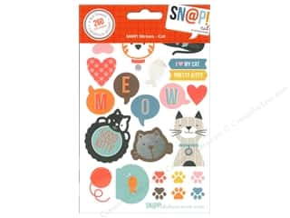 Simple Stories ABC & 123: Simple Stories SN@P! Stickers Cat