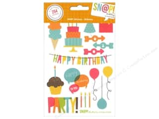 Simple Stories SN@P! Stickers Birthday