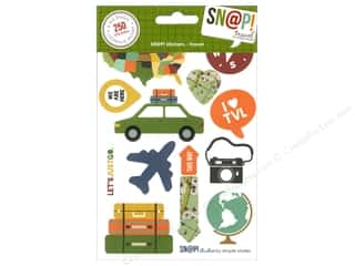 Simple Stories SN@P! Stickers Travel