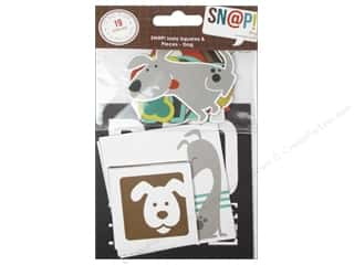 Pets $2 - $4: Simple Stories SN@P! Insta Squares & Pieces Dog