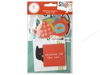 Pets Brown: Simple Stories SN@P! Insta Squares & Pieces Cat