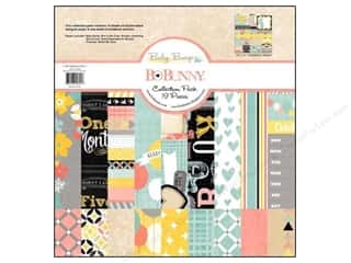 Bo Bunny Paper Collection Pack Baby Bump