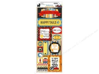 Bo Bunny Sticker Happy Tails