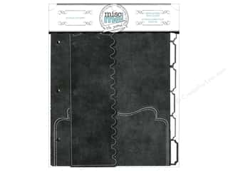 Design Originals $8 - $9: Bo Bunny Misc Me 8 x 9 in. Dividers Black