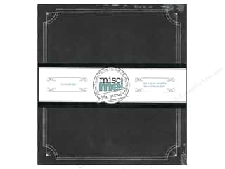 binders: Bo Bunny Misc Me Binder 8 x 9 in. Black