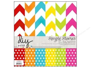 "Simple Stories Simple Stories Kit: Simple Stories Kit DIY Boutique Basics 12""x 12"""
