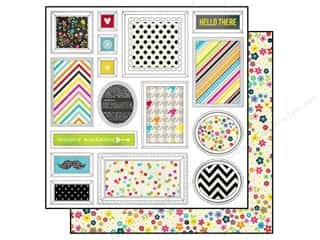Simple Stories Paper 12x12 DIY Boutique Freeze Frm (25 piece)