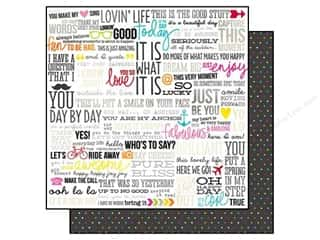 Simple Stories Paper 12x12 DIY Boutique Who's/Say? (25 piece)