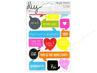 Simple Stories Stickers: Simple Stories Sticker DIY Words