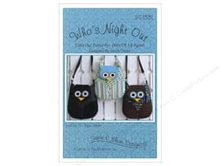 Lila Tueller Designs Tote Bags / Purses Patterns: Susie C Shore Who's Night Out Pattern