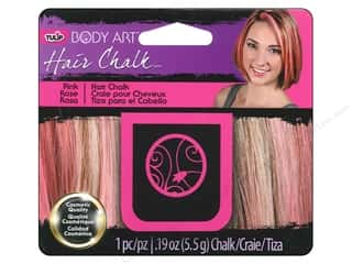 Hair Hair Adornments: Tulip Body Art Hair Chalk Pink