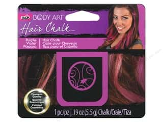 Hair Hair Adornments: Tulip Body Art Hair Chalk Purple