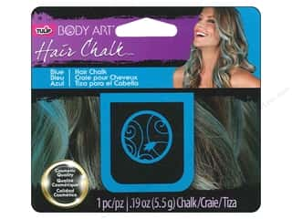 Kids Crafts Hair Accessory Making: Tulip Body Art Hair Chalk Blue