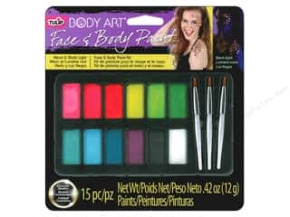 Tulip paint: Tulip Body Art Face & Body Paint Palette Neon