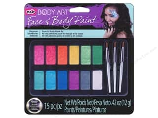 Paint Aids Paint Palettes: Tulip Body Art Face & Body Paint Palette Shimmer