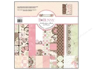 Papers Bo Bunny 12 x 12 in. Paper: Bo Bunny 12 x 12 in. Paper Collection Pack Primrose