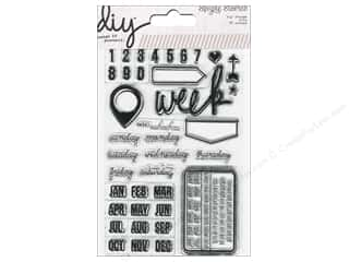 Simple Stories Stamps DIY Date