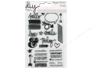 Rubber Stamping Everything You Love Sale: Simple Stories Stamps DIY Journaling